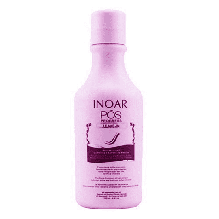 INOAR TERAPIA PROGRESSO LEAVE IN 250ml (8,45Oz.) - Keratinbeauty