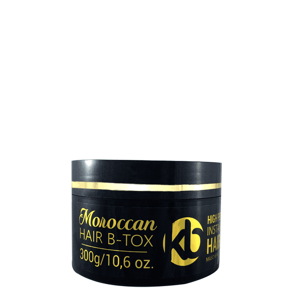 HAIR BOTOX KB MOROCCAN INSTANT MIRACLE RECONSTRUCTION MASK 300g/10,6oz.