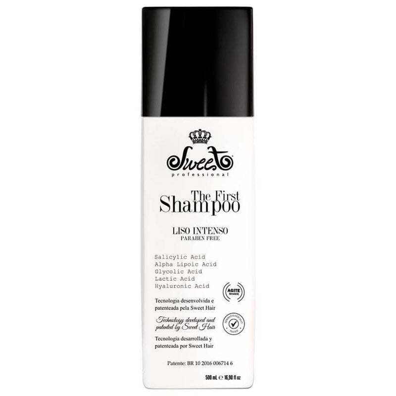 SWEET HAIR THE FIRST CHAMPÚ DE ALISADO PARA EL PELO 500ml/17fl.Oz. - Keratinbeauty