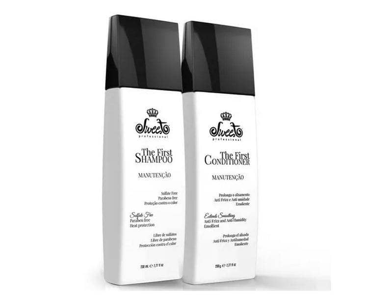 Sweet Hair The First Kit De Mantenimiento Del Cabello  230ml - 7,77fl.oz - Keratinbeauty