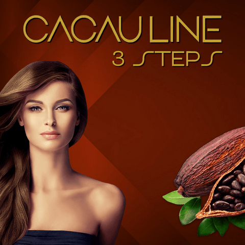 BRASIL CACAU BRAZILIAN KERATIN TREATMENT 3 X 250ml (8.4oz) FRACTION SALE KIT.