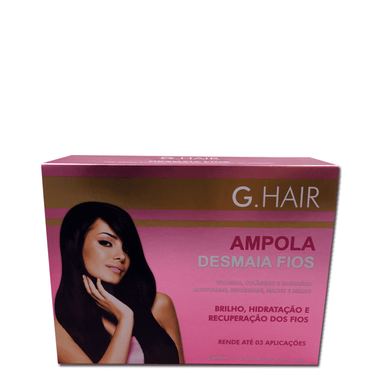 G HAIR DEEP HYDRATING AMPOULE 12unit. 45ml/1,52Oz. - Keratinbeauty