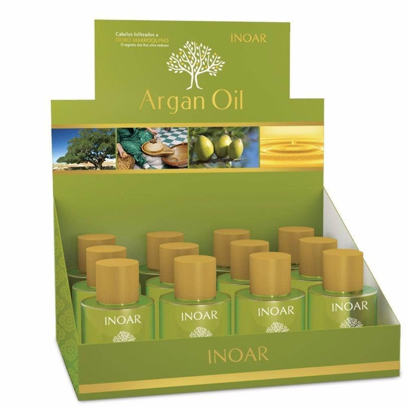 INOAR ARGAN OIL HAIR TREATMENT FINALIZER 12X 7ml - Keratinbeauty