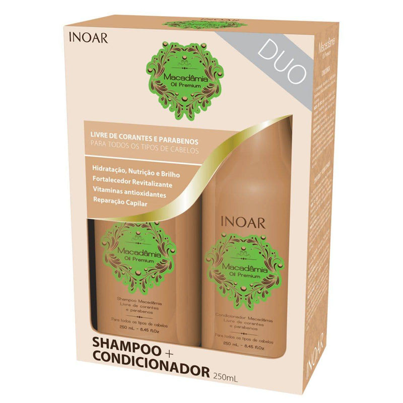 INOAR MACADAMIA POS PROGRESS HOME CARE KIT - Keratinbeauty