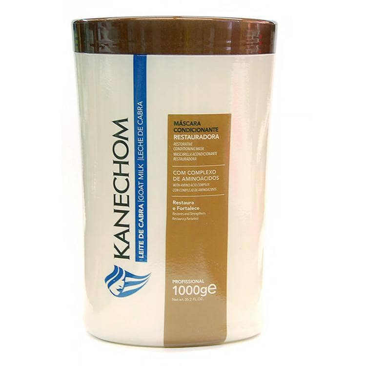 KANECHOM GOAT MILK HAIR TREATMENT MASK 1000g/35,2fl/Oz. - Keratinbeauty