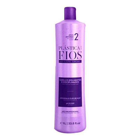 BRAZILIAN KERATIN  PLASTICA DOS FIOS SINGLE BOTTLE STEP 2  1000ml (34oz) .