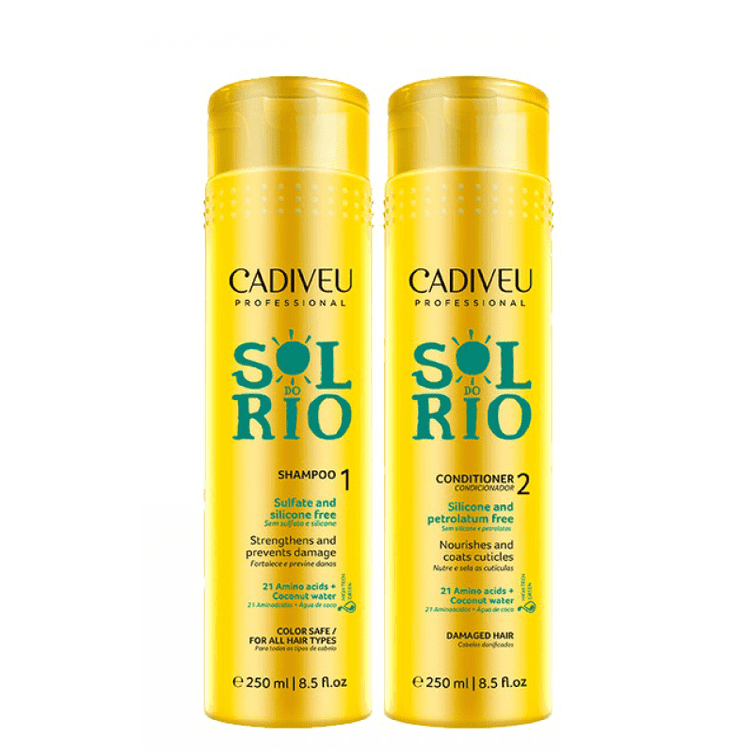 SOL DO RIO HAIR UV PROTECTION HOME CARE SET 250ml 8,5fl.oz. - Keratinbeauty