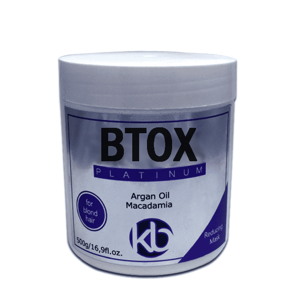 PURPLE BOTOX FOR BLONDE HAIR TREATMENT KB PLATINUM 500g (17,6oz) - Keratinbeauty