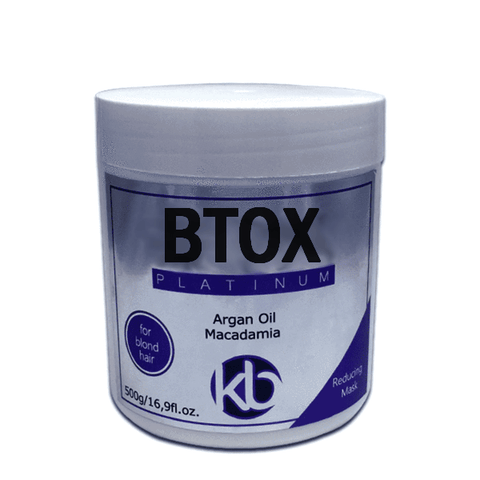PURPLE BOTOX FOR BLONDE HAIR TREATMENT KB PLATINUM 500g (17,6oz)