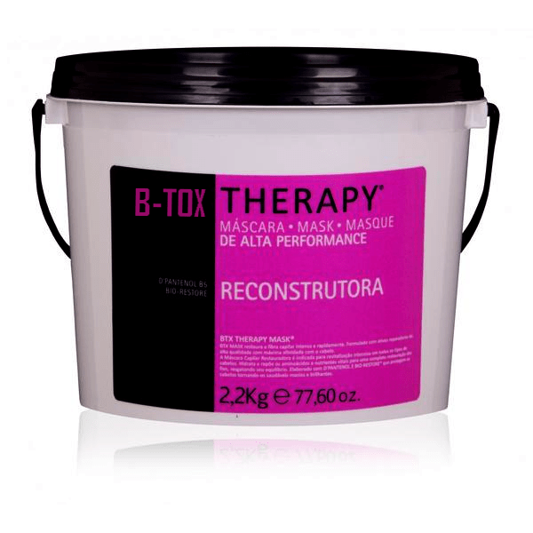BOTOX FOR HAIR KB LINE RECONSTRUCTION MASK TREATMENT 2,2kg/72,2oz. - Keratinbeauty