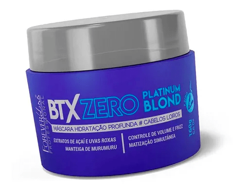 Forever Liss Purple Botox Zero for Blond and Platinum Hair 160g - Keratinbeauty