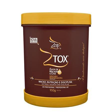 Botox For The Hair Zap Ztox Macadamia And Chia 950g - Keratinbeauty