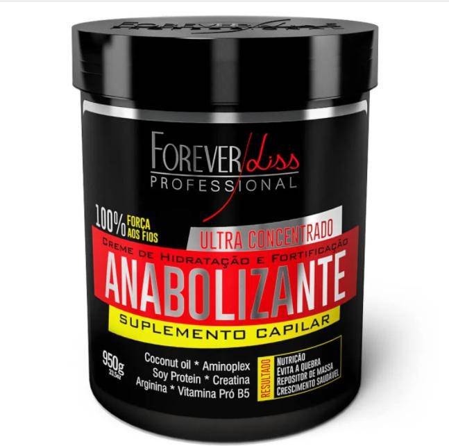Forever Liss Anabolizante Ultra Concentrated Hair Nutrition Mask 950g  32,1oz - Keratinbeauty