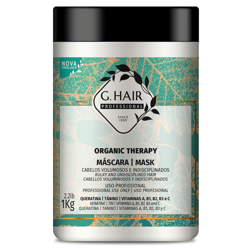 G HAIR B-TOX  ORGANIC THERAPY MASK 1 KG - Keratinbeauty