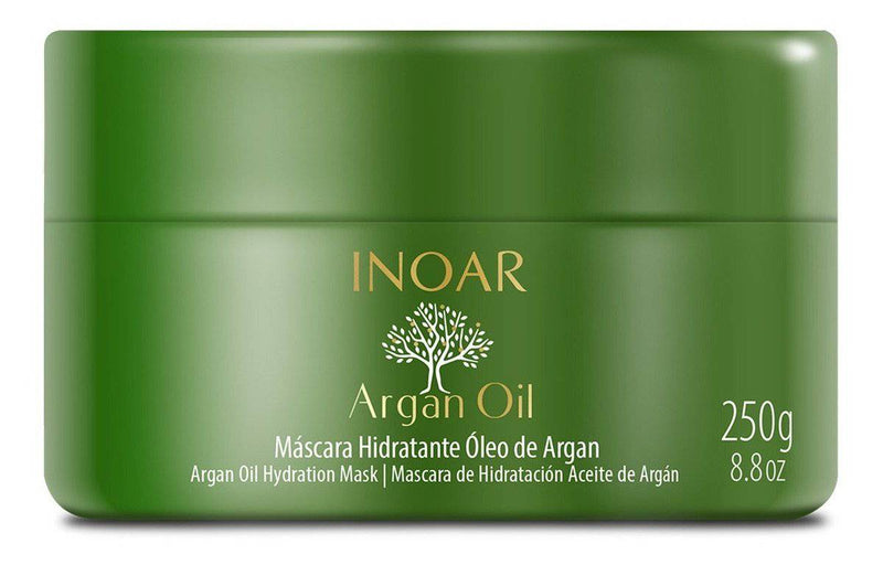 INOAR ARGAN OIL BALANCE MASK TREATMENT - 250G - Keratinbeauty