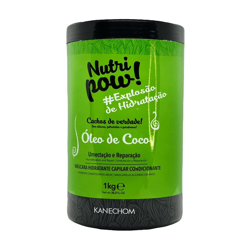 KANECHOM NUTRI POW WITH COCONUT OIL 1000ml (35.2fl.oz) - Keratinbeauty