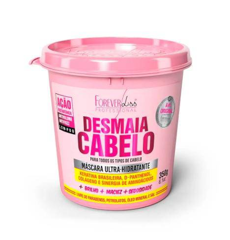 Ultra Hydrating Mask Desmaia Cabelo - Forever Liss 350g - Keratinbeauty