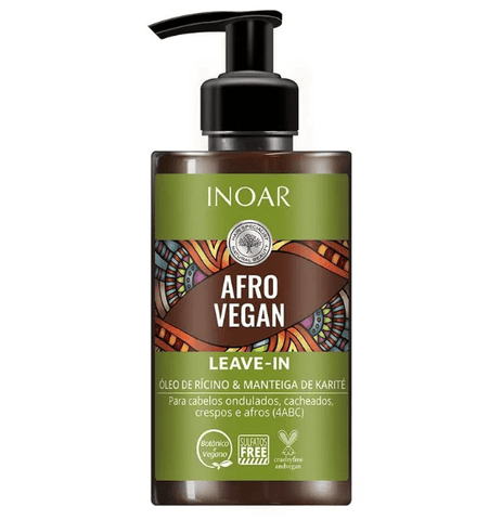 Inoar Afro Vegan - Leave in 300ml