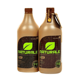NATURALE  ORGANIC BRAZILIAN KERATIN TREATMENT BLOW DRY  2X 1000ml/33,8 fl.oz. - Keratinbeauty