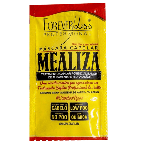 FOREVER LISS MEALIZA HAIR MASK SAMPLE SACHET 15g