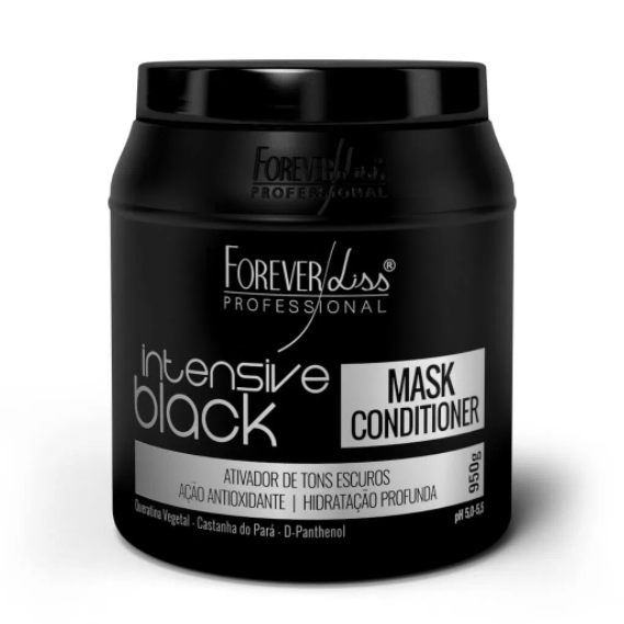 Forever Liss Black Hair Tinting Kit Intensive Black 950g - Keratinbeauty