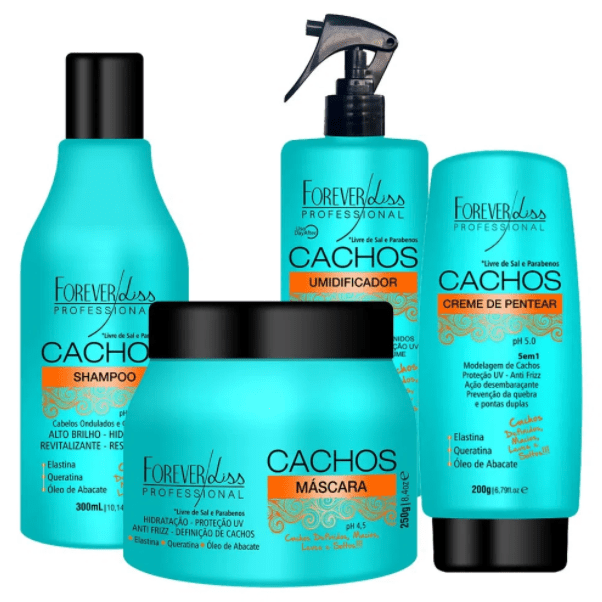 Forever Liss Curls Full Kit Products For Curly Hair - Keratinbeauty