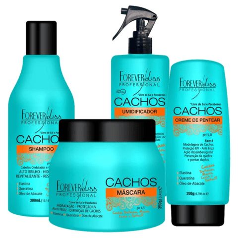Forever Liss Curls Full Kit Products For Curly Hair