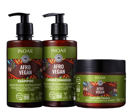 Inoar Afro Vegan Home Care Kit