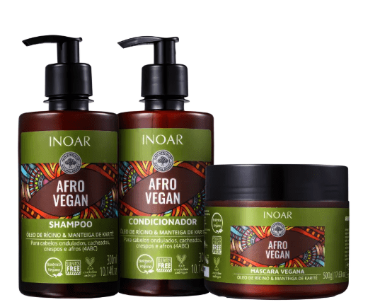 Inoar Afro Vegan Home Care Kit - Keratinbeauty