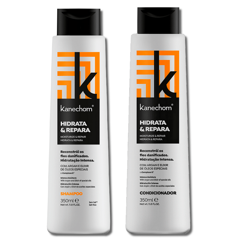Kanechom Kit Moisturizes And Repairs Shampoo + Conditioner 350ml - Keratinbeauty