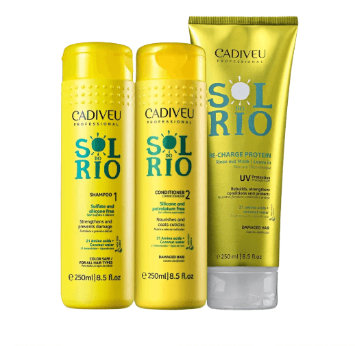 SOL DO RIO HAIR UV PROTECTION DAILY USE KIT 3 X 250ml - Keratinbeauty