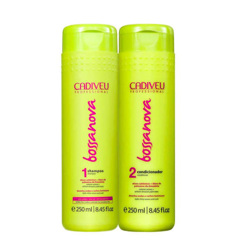 Cadiveu Bossanova Shampoo And Conditioner Set For Curly Hair