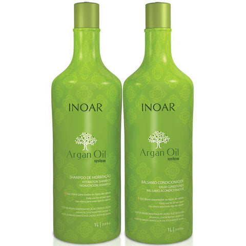 Inoar Argan Oil System Kit 1000ml/37.8fl.oz