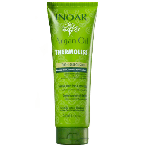 Inoar Argan Oil Thermoliss Soft Conditioner 240ml - Keratinbeauty