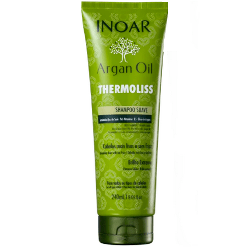 Inoar Argan Oil Thermoliss Soft Shampoo 240ml - Keratinbeauty