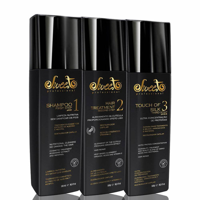 Sweet Hair Lovely Hair Volume Reduction Treatment Kit 980ml - Keratinbeauty