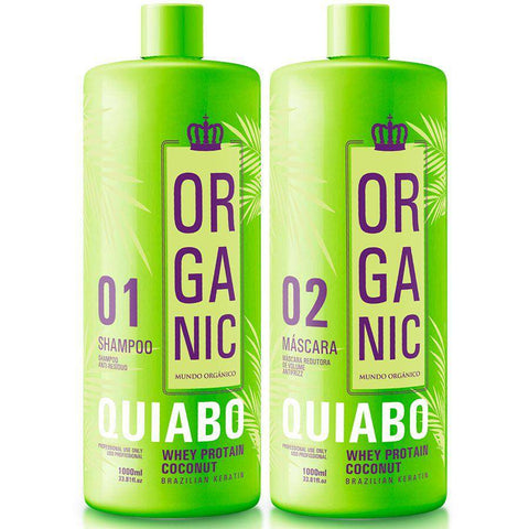 Organic Hair Smoothing Treatment Coconut And Okra  1000ml (33.81 fl.oz)