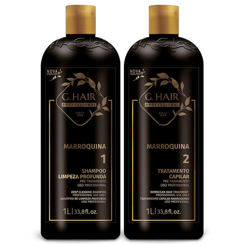 BRAZILIAN KERATIN KB  MOROCCAN TREATMENT 1000ml 34oz KIT. - Keratinbeauty