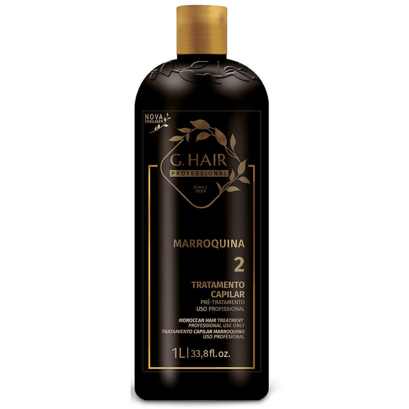 INOAR BRAZILIAN KERATIN MOROCCAN G HAIR TREATMENT ONLY 1000ml BOTTLE. - Keratinbeauty