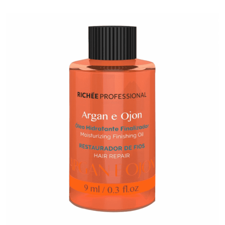 RICHEE ARGAN AND OJON MOISTURIZING HAIR FINISHING OIL 9ml 0,3fl/oz - Keratinbeauty
