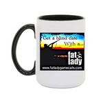 Blind Date with a Fat Lady - Coffee Mug