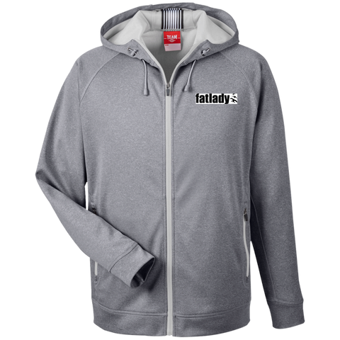 Fat Lady Game Calls - Heathered Performance Hooded Jacket