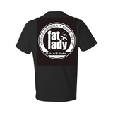 Fat Lady Black SS T-Shirt
