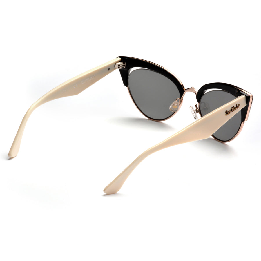 Akila x Love Made Cat Eye Sunglasses - Ivory