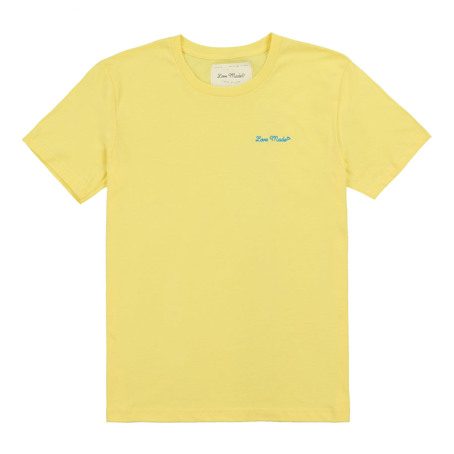 Love Made Stitch Tee - Hello Yellow