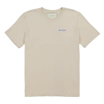 Love Made Stitch Tee - Creamy White