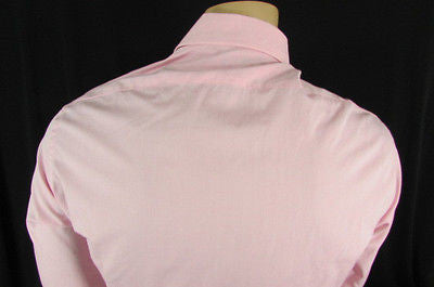 Banana Republic Men Pink Button Down Dress Shirt Long Sleeves Classic Large - alwaystyle4you - 5