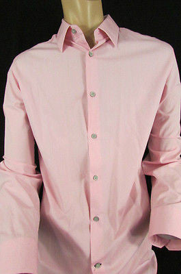 Banana Republic Men Pink Button Down Dress Shirt Long Sleeves Classic Large - alwaystyle4you - 12