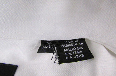 Hugo Boss Men White Button Down Dress Shirt Long Sleeves Classic Large 16 34-35 - alwaystyle4you - 10
