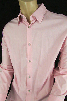 Banana Republic Men Pink Button Down Dress Shirt Long Sleeves Classic Large - alwaystyle4you - 9